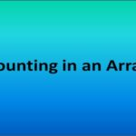 Array Count
