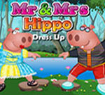 Mr and Mrs Hippo Dress Up
