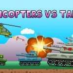 Helicopters vs Tanks